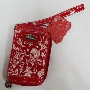 Flaunt Faith Nicole Palazzo Phone Case Red Haute